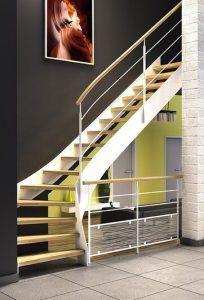 Escaliers métalliques avec soudure