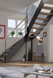 Escalier métallique sans soudure